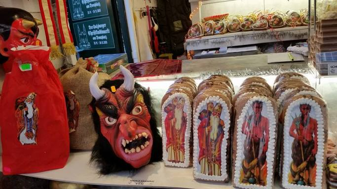 Krampus gingerbread!