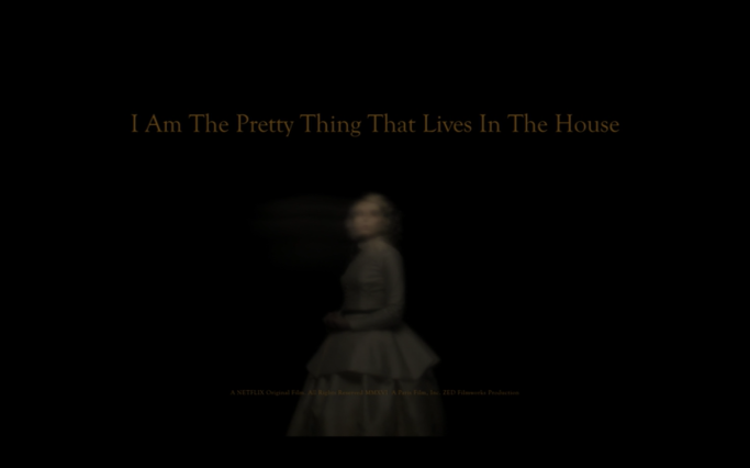 i am the pretty thing that lives in the house netflix 2016