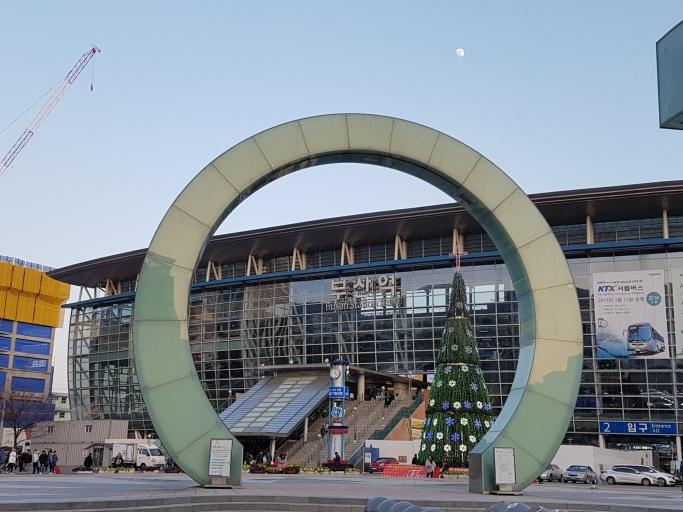 busan train station korea