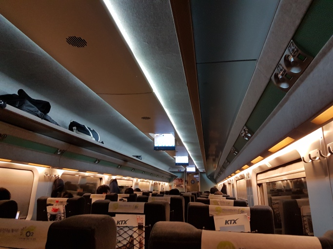 ktx train to busan