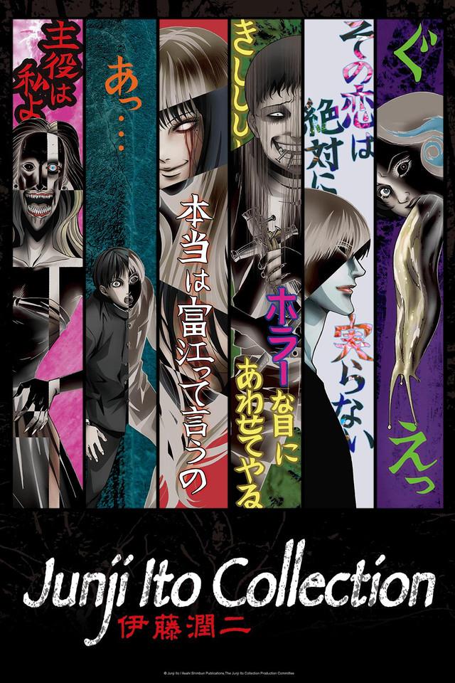 junji ito, horror, horror anime, halloween, anime,
