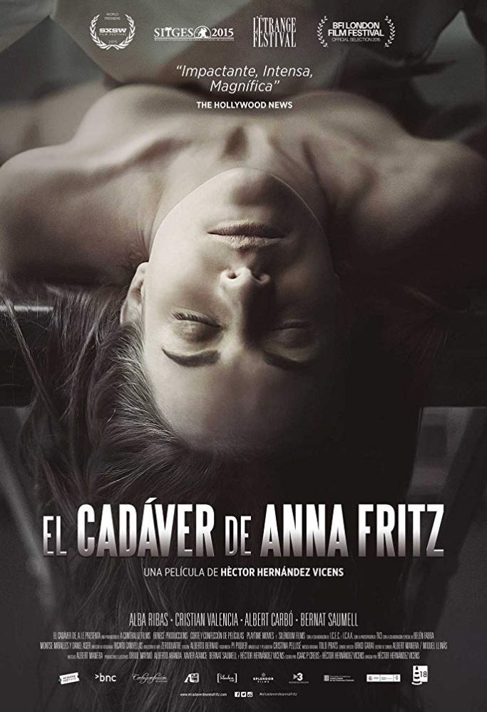the corpse of anna fritz, horror, horror movies, horror films, film, films, movies, halloween