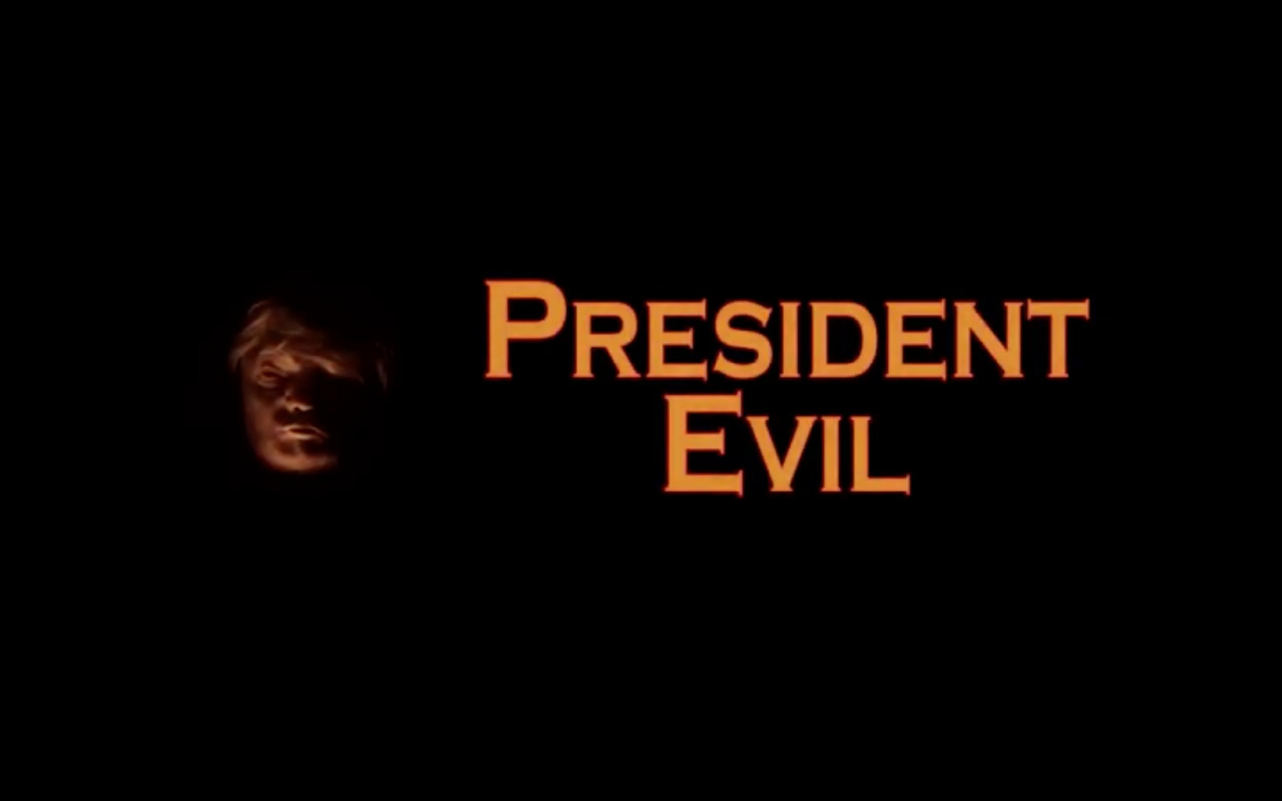 president evil 2018 horror comedy